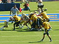 Bears on offense at UCLA at Cal 2010-10-09 15.JPG