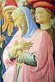 Beato angelico, pala strozzi della deposizione, con cuspidi e predella di lorenzo monaco, 16.JPG