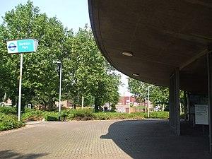 Beckton Park DLR station - Image: Beckton Park stn entrance
