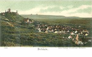 Beilstein, Württemberg - view from east around 1900