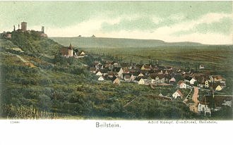 Beilstein, Württemberg - view from east around 1900