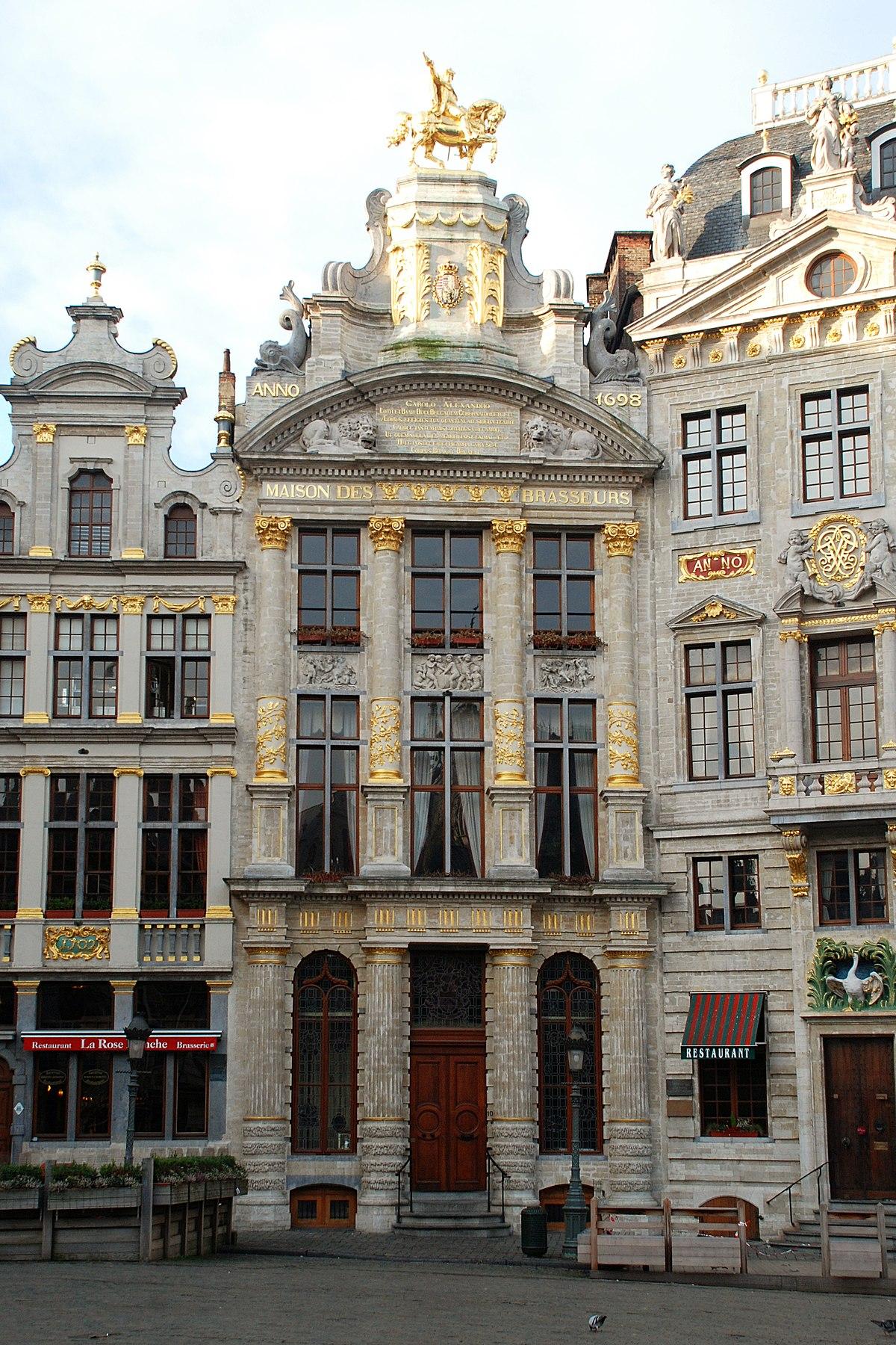 Archivo:Belgique - Bruxelles - Maison de l'Arbre d'Or - 01.jpg ...