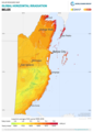Belize GHI Solar-resource-map GlobalSolarAtlas World-Bank-Esmap-Solargis.png