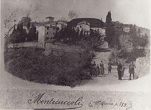 Montecuccoli in una foto del 1895