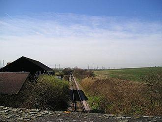 Beluncle Halt railway station - Site of Beluncle Halt