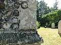 Bench Mark at Eaton St Andrew's Church, Norwich - geograph.org.uk - 1956632.jpg