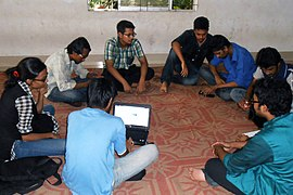 Bengali Wikipedians at Chittagong meetup 2 (03).jpg