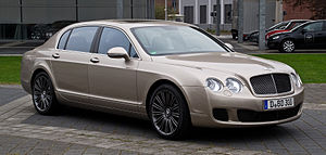 Bentley Continental Flying Spur (2005) - 2012 Bentley Continental Flying Spur Speed