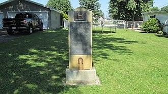 Bentonville, Ohio - Image: Bentonville OH3