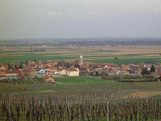 Bergholtz, Haut-Rhin - A general view of Bergholtz