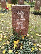 Berlin Friedrichsfelde Zentralfriedhof, Pergolenweg - Stibi