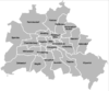 Boroughs of Berlin, 1990-2000