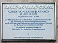 Berliner Gedenktafel Dorotheenstr 24 (Mitte) Agnes von Zahn-Harnack.jpg