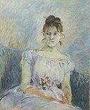Berthe Morisot - Paule Gobillard en robe de bal.jpg