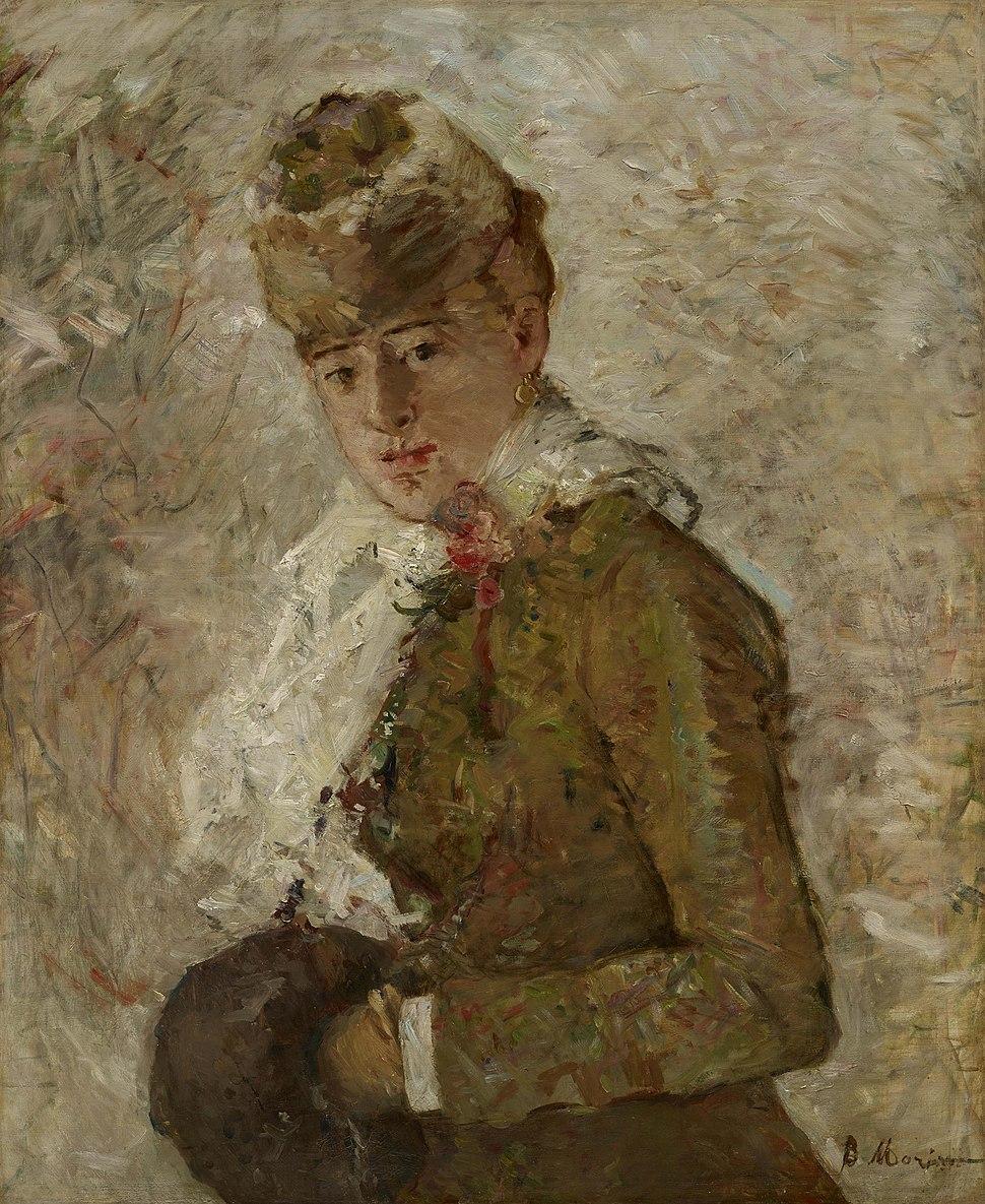 Berthe Morisot Winter aka Woman with a Muff