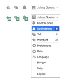agregado de pop up o notificacin multimedia pgina usuarioeditar