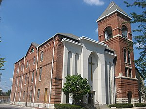 Bethel A.M.E. Church (Indianapolis, Indiana) - Image: Bethel A.M.E. Church, Indianapolis, front