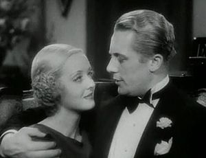 Ex-Lady - Davis and Raymond in a scene from the trailer for Ex-Lady.