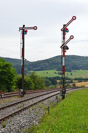 Railway signal - Semaphore signals (Germany)