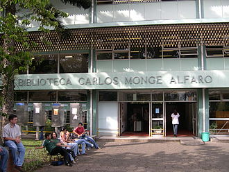 University of Costa Rica - Carlos Monge Library, a library on the main campus in San Pedro.