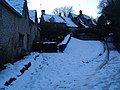 Bibury after snowfall at dusk - geograph.org.uk - 1158863.jpg