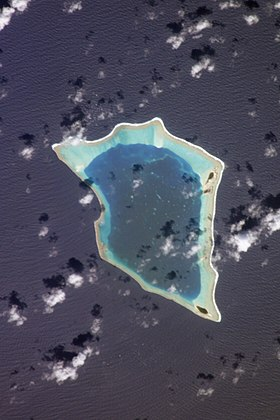 Vue satellite de Bikar.