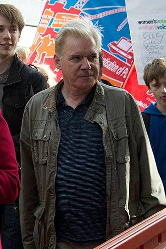 Bill Bonnar - At a Scottish Trades Union Congress rally in October 2014.