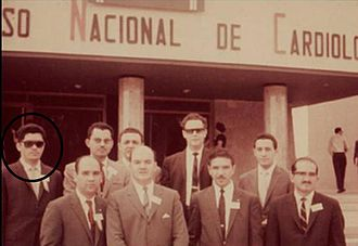 Fernando Antonio Bermúdez Arias - National Congress of Cardiology in Mexico-1972