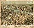 Bird's eye view of Peshtigo, Wisconsin Sept. 1871. LOC 93681235.jpg