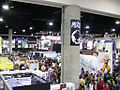 Birds Eye view of Comic-Con from G4 booth (3753494695).jpg