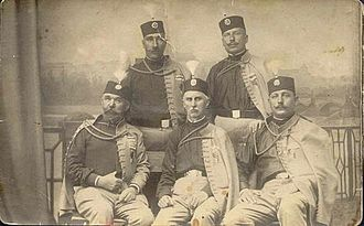 Black Hand (Serbia) - Early members of the Black Hand.