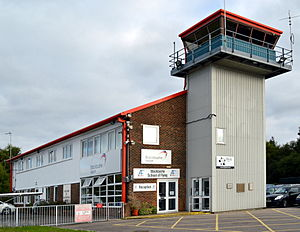 Blackbushe Airport - The control tower