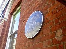 Blestium plaque, Monmouth - December 2013.jpg