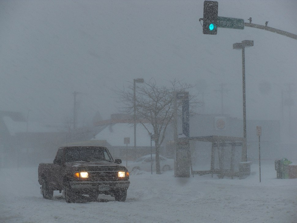 Blizzard in Kansas City