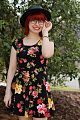 Blue Glasses, Boater Hat, and a Floral Print Dress (17248960432).jpg