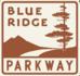 Blue Ridge Parkway marker