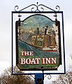 Boat Inn pub sign, Grand Union - geograph.org.uk - 1086268.jpg