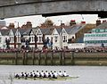 Boat Race at Barnes Bridge 2003 - Oxford winners.jpg