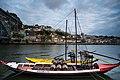 Boat on the Duoro River in Porto (41953889845).jpg