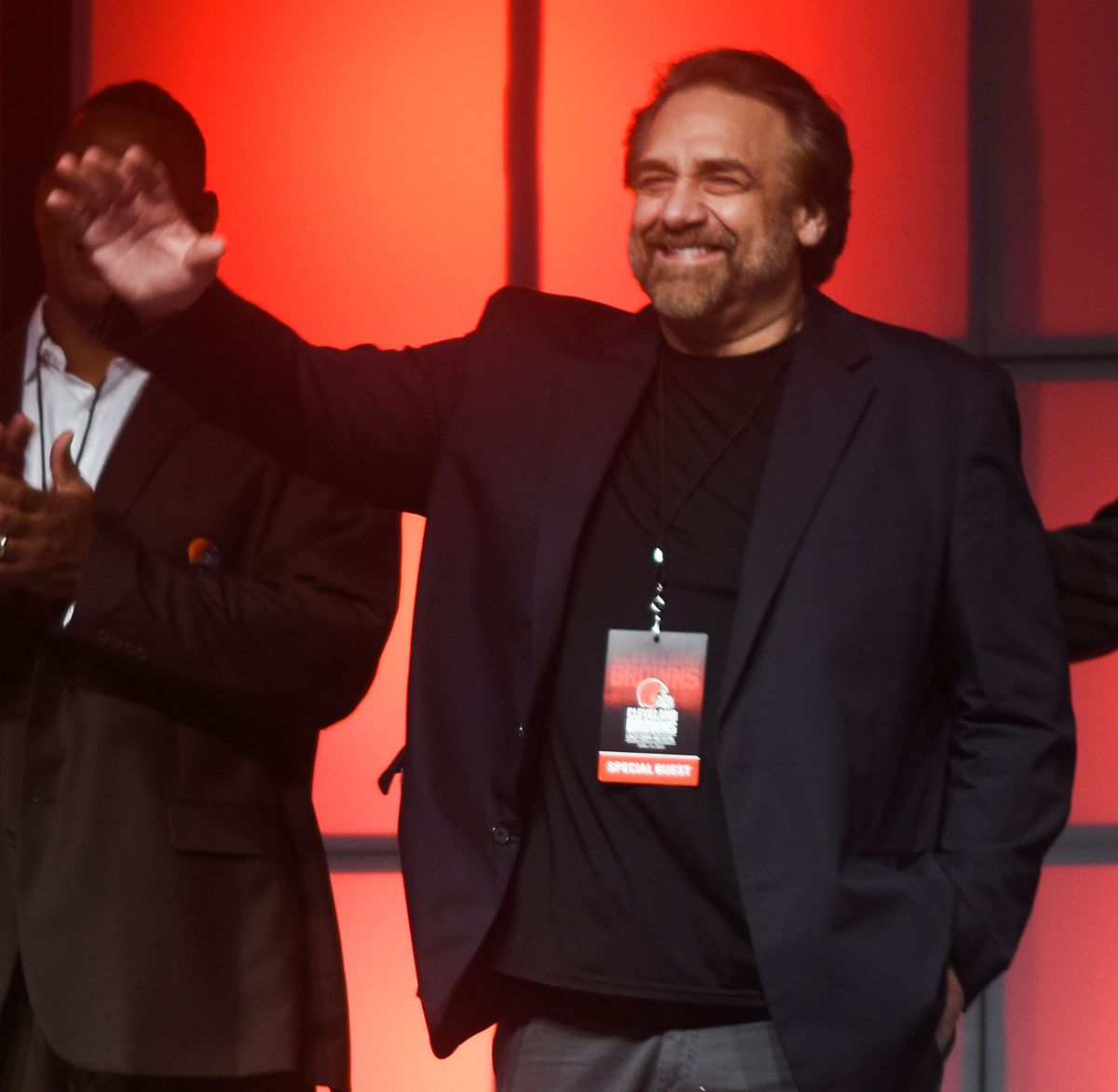 Photo of Mike Golic & his Brother Bob Golic