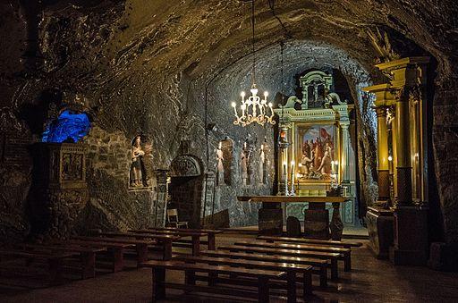 Bochnia, kopalnia soli, kaplica św. Kingi (1)