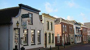 Bodegraven - Street scene in Bodegraven.
