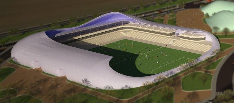 Bodek Architects Tiberias Football Stadium AA