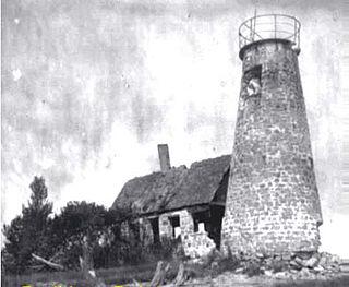 Bodkin Island Light lighthouse in Maryland, United States