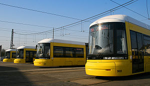 "Trams in Berlin - ""Flexity Berlin"""