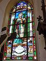 Bonningues-lès-Ardres (Pas-de-Calais) église, vitrail 03.JPG