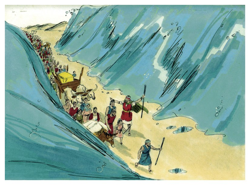 Book of Exodus Chapter 15-7 (Bible Illustrations by Sweet Media)