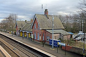Hough Green railway station - Hough Green railway station