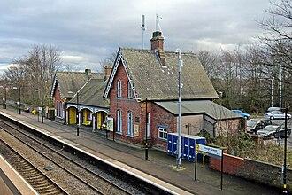 Hough Green railway station - Hough Green railway station