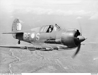 No. 5 Squadron RAAF - A Boomerang aircraft operated by No. 5 Squadron in 1944